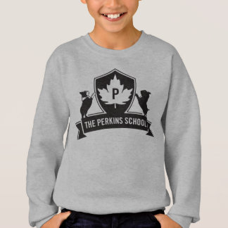 Sweater with Perkins Crest