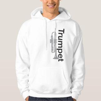 Sweatshirt à capuchon de trompette