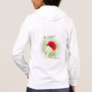 "Sweatshirt ""Be happy!"""