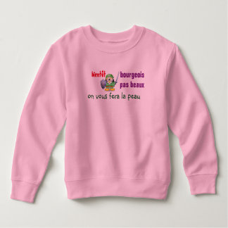 sweatshirt child anti-middle-class man