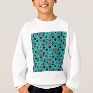 SWEATSHIRT COULEUR ROUND PATTERN GIFT IV A50