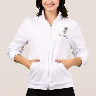 Sweatshirt de chiot de St Bernard d'amour