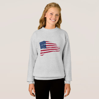 Sweatshirt Flag United State