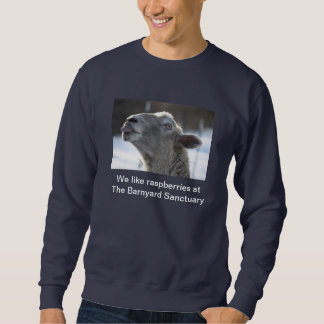 Sweatshirt for sheep rescue