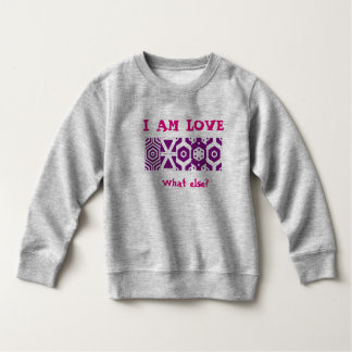 "Sweatshirt ""I AT the LOVE """