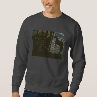 Sweatshirt The more time in the stables
