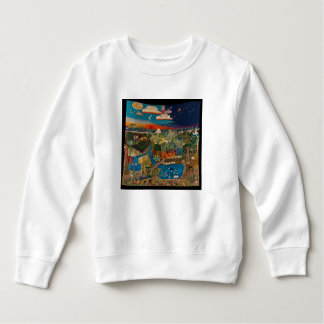 sweatshirt with land of hope design