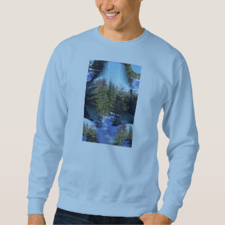 Sweatshirt with landscape