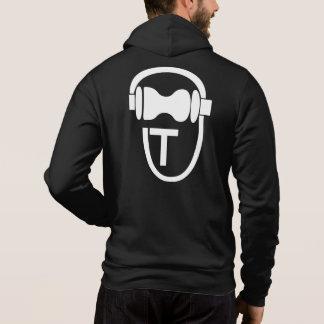 Sweatshirt with TEnsko's Logo - Back - Dark