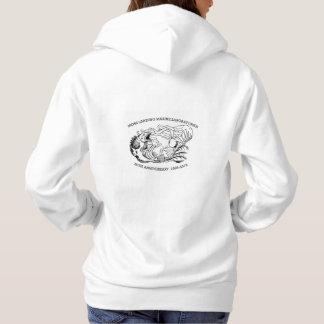 Sweatshirt (Women's): Hooded, Lingcod/Kelp 50th