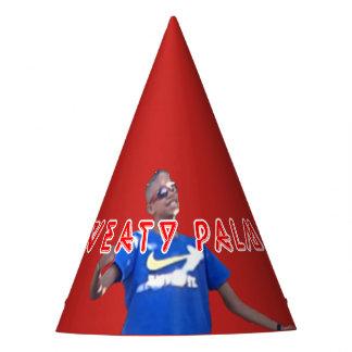 Sweaty palms party hat