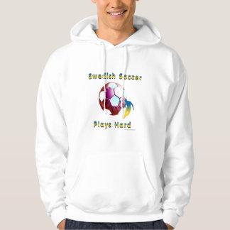 Swede Soccer Sunball Men's Hoodie