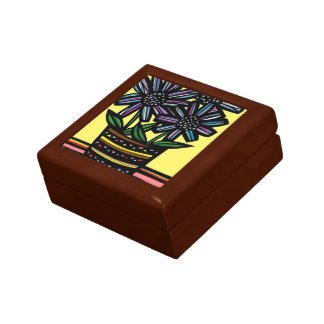 """""""Swede"""" Wooden Jewelry Box (Two Sizes)"""