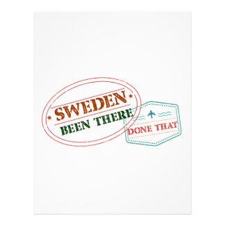 Sweden Been There Done That Letterhead
