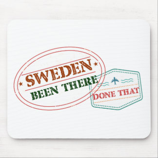 Sweden Been There Done That Mouse Pad