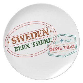 Sweden Been There Done That Plate