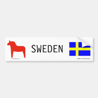Sweden Bumper Sticker