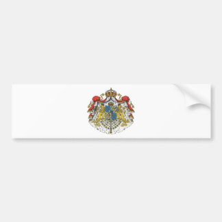Sweden coat of arms bumper sticker