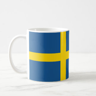 sweden country flag nation symbol coffee mug