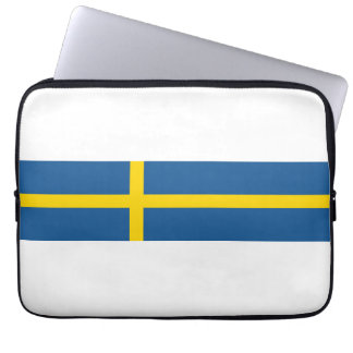 sweden country flag nation symbol laptop sleeves