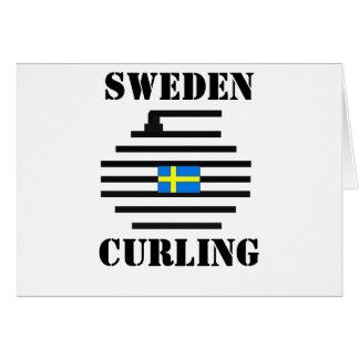 Sweden Curling Card
