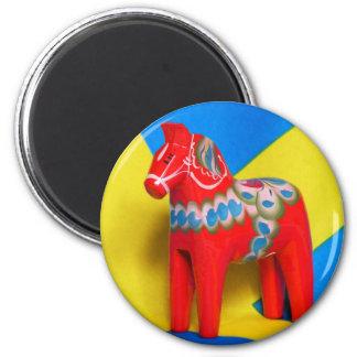 Sweden Dala Horse Magnet