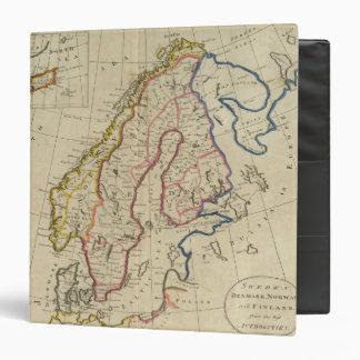 Sweden, Denmark, Norway and Finland 2 Vinyl Binder