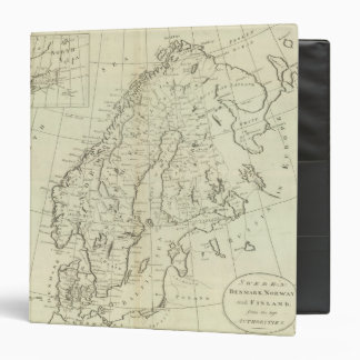 Sweden, Denmark, Norway, and Finland Vinyl Binders