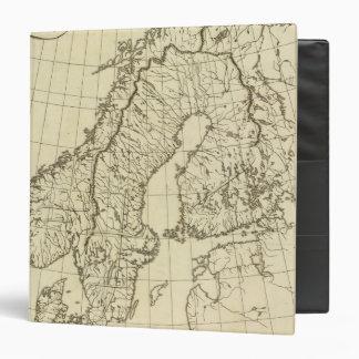 Sweden, Denmark, Norway outline Vinyl Binder