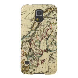 Sweden, Denmark, Norway with boundaries outlined Case For Galaxy S5