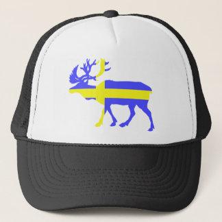 Sweden Elk Trucker Hat