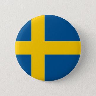 Sweden Flag 2 Inch Round Button