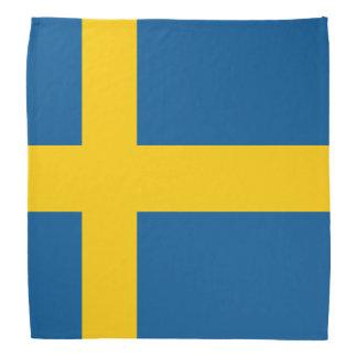 Sweden Flag Bandanna