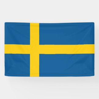 Sweden Flag Banner