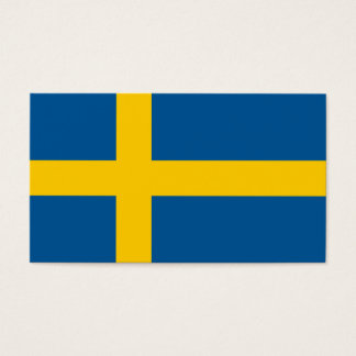Sweden Flag Business Card
