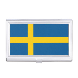 Sweden Flag Business Card Holders