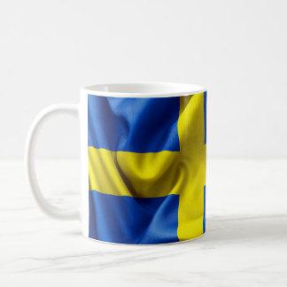 Sweden Flag Classic White Mug
