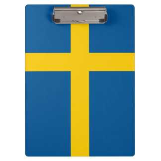 Sweden Flag Clipboards