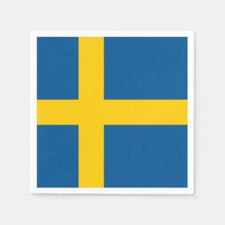 Sweden Flag Disposable Napkin