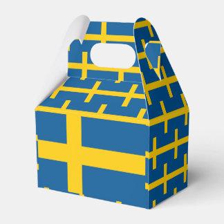 Sweden Flag Favor Box