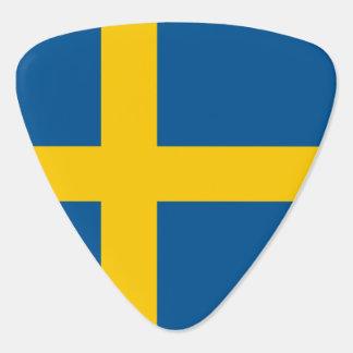 Sweden Flag Guitar Pick