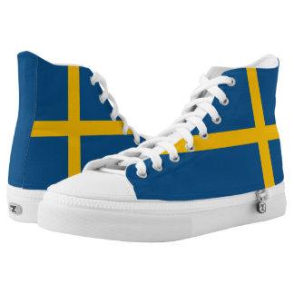 Sweden Flag High Tops