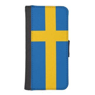 Sweden Flag iPhone SE/5/5s Wallet Case
