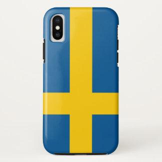 Sweden Flag iPhone X Case