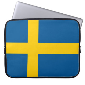 Sweden Flag Laptop Sleeve