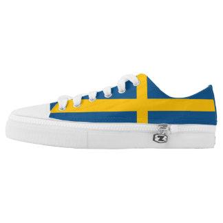 Sweden Flag Low-Top Sneakers