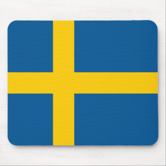 Sweden Flag Mouse Pad