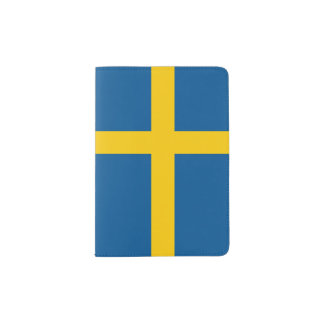 Sweden Flag Passport Holder