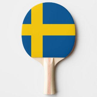 Sweden Flag Ping Pong Paddle