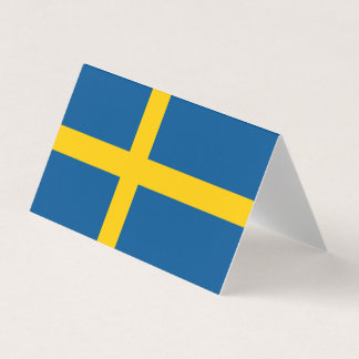 Sweden Flag Place Card